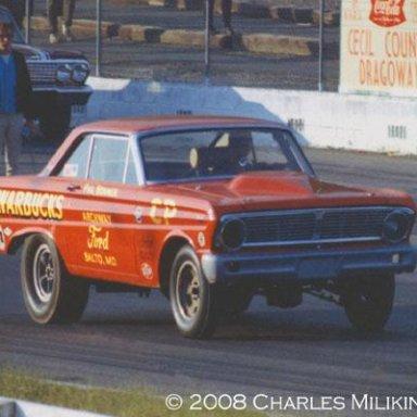 Phil Bonner 65 Falcon Funny Car Cecil,Co,MD