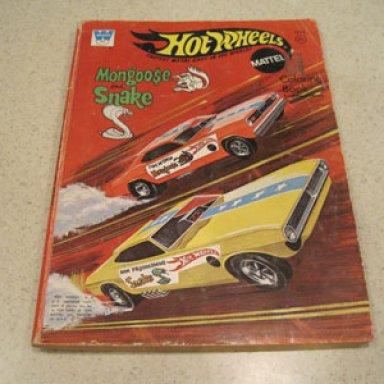 Hot Wheels color book