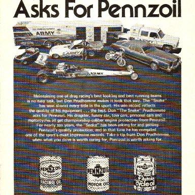 Pennzoil Ad