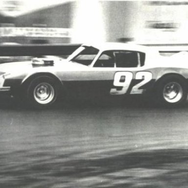 Mike Humphries at speed