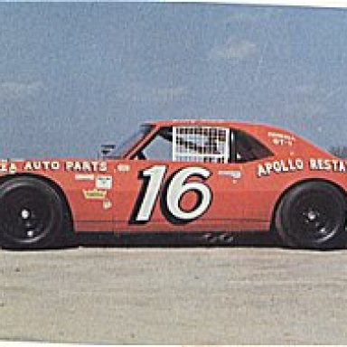 Billy Scott orange # 16