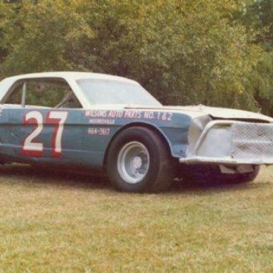 Hayward Plyler driven Mustang, owned by Wayne Fitzpatrick