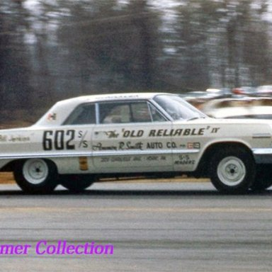 Dave Strickler and Old Reliable IV Super/Stock at Aquasco
