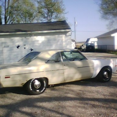 76 Dart New Tires