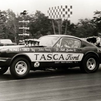 first Tasca funny car at conn dragway