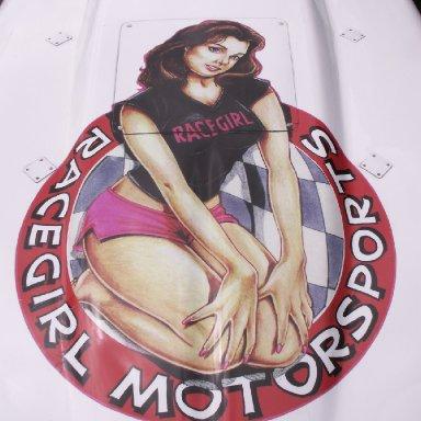 RaceGirl Artwork
