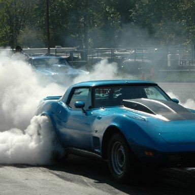 A Stingray smokin em'