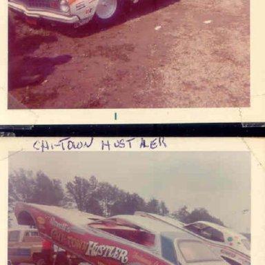 DICK LANDY...CHI-TOWN HUSTLER...DRAGWAY 42..1973