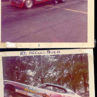 TOM HOOVER..ED MCCULLOUGH...DRAGWAY 42..1973