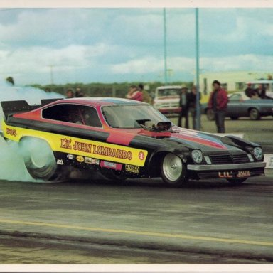 LIL JOHN LOMBARDO SMOKIN THE TIRES @ BAKERSFIELD IN HIS MONZA