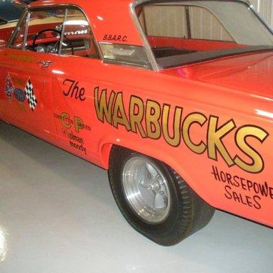 64 A.FX Warbucks T Bolt CB