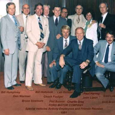 """The Ford Boy's Reunion"" 1981"