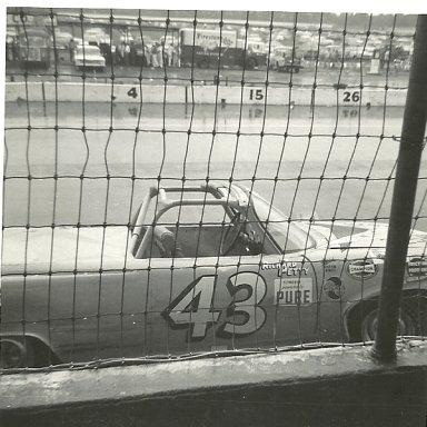 Richard Petty at Darlington's Convertible Race