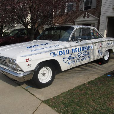 1962 The Old Reliable 2 Tribute Car with MARK 1 Engine Upgrade