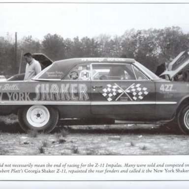 wally page 96 larry davis book ss drag racing the