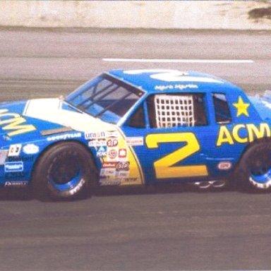 1983 #2 Mark Martin ACM Equipment Sales