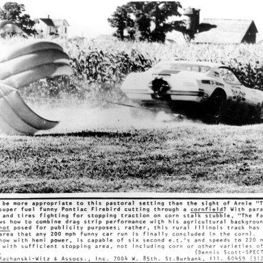 arnie in the corn chutes out rachanski photo