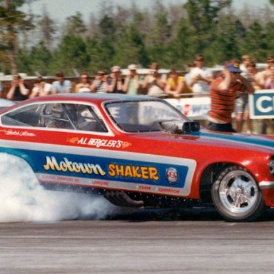 BUTCH MAAS SMOKIN THE HIDES IN THE MOTOWN SHAKER VEGA