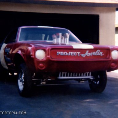 Project Javelin in Driveway ready to go