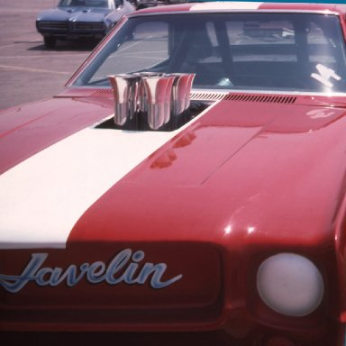 Closeup of Project Javelin at Irwindale 1974