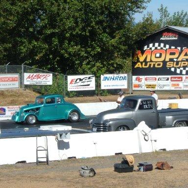 Mission Raceway. Mission BC