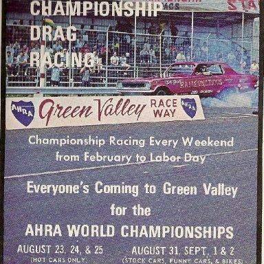 GREEN VALLEY RACEWAY