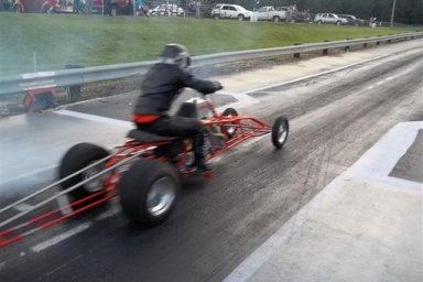 ATV Asphalt Drag Racers