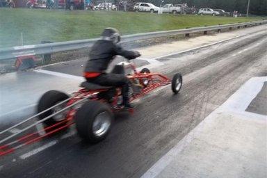 ATV Asphalt Drag Racers