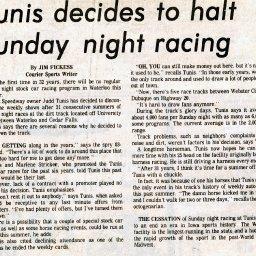 Tunis Speedway 1948-1983