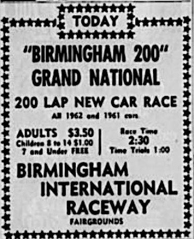 1963 Birmingham ad 110462BirminghamNews.png