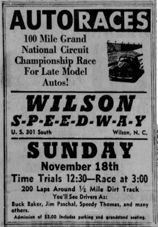1956 Wilson ad 111756RaleighNandO.png