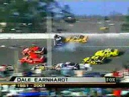 Nascar - Dale Earnhardt Crash Daytona 2001