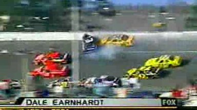 Nascar - Dale Earnhardt Crash Daytona 2001
