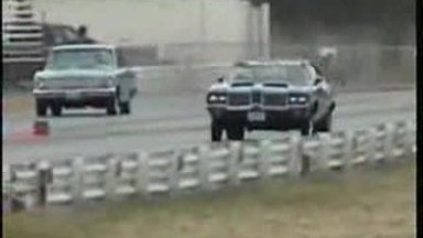DIE HARD OLDS VIDEO #2 OLDSMOBILE DRAG RACING EXCITMENT!