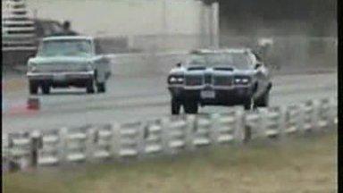 DIE HARD OLDS VIDEO #2 OLDSMOBILE DRAG RACING EXCITMENT!