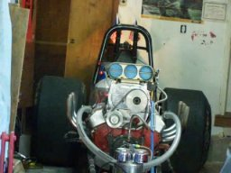 Front Engine Dragster Start-Up