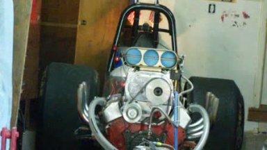 Front Engine Dragster Start-Up